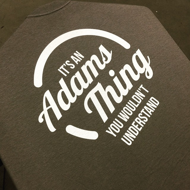 Apparel Decoration: Adams Family Reunion T-shirts