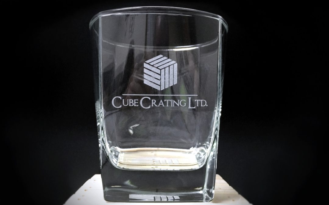 Promotional Product: Cube Crating Glassware