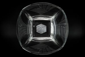Cube Crating Glassware Promotional Products