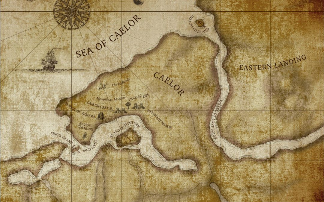 Custom Illustration: Map of Caelor