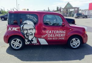 KFC Vehicle Wrap