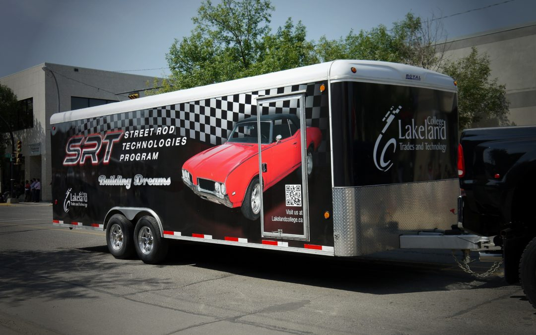 Trailer Wrap: Lakeland College SRT Program