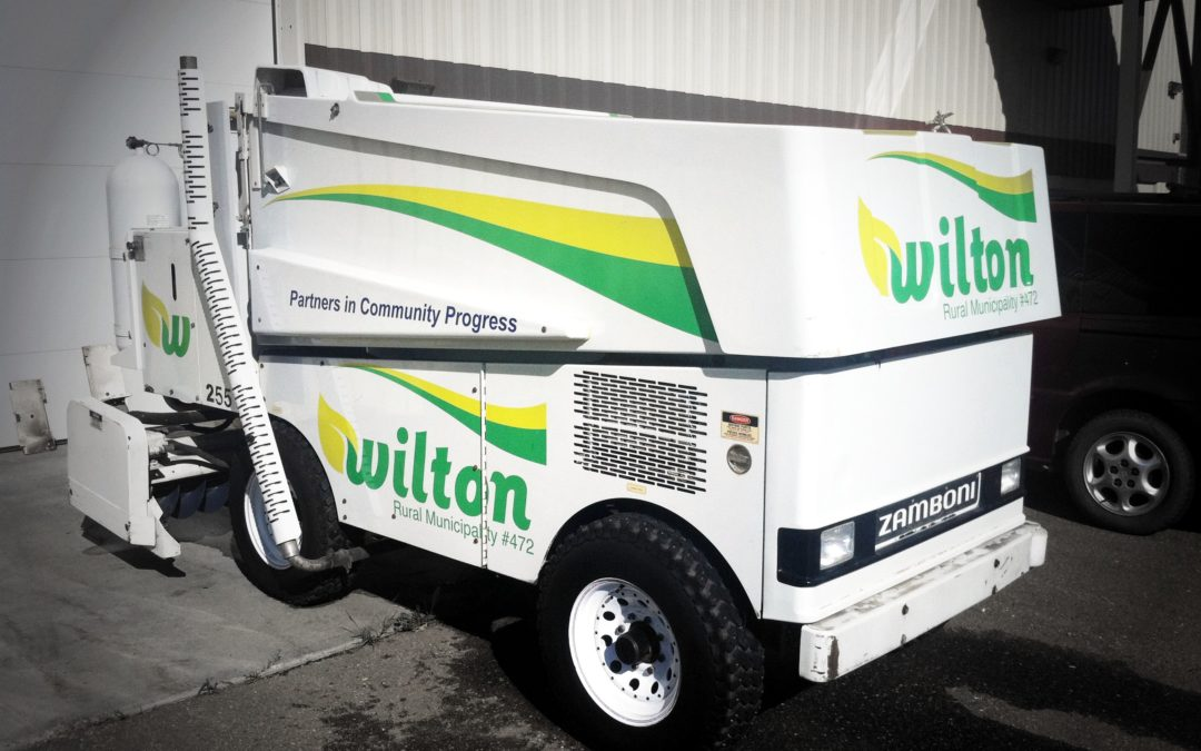 Zamboni Decals: RM of Wilton