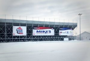 Scotiabank Hockey Day in Canada Stadium Banners