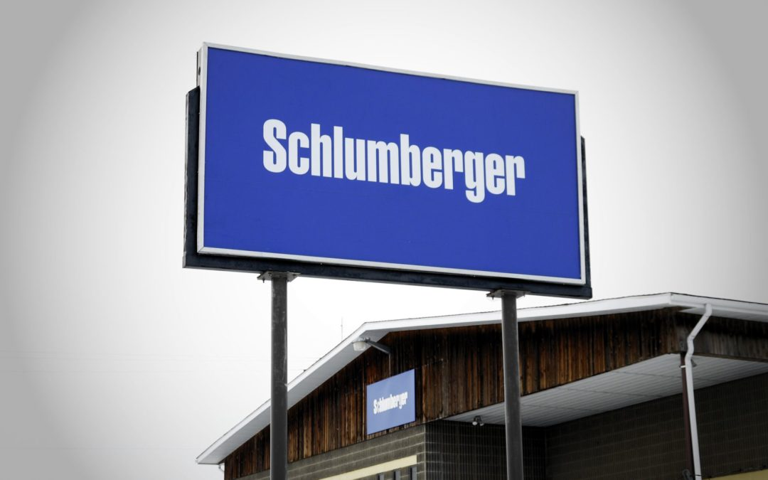 Pylon & Storefront Sign: Schlumberger