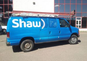 Shaw Communications Vehicle Decals