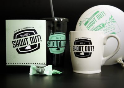 Promotional Products: City of Lloydminster Shout Out Campaign