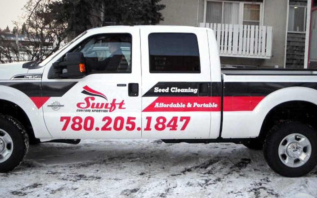 Truck Decals: Swift Custom Spraying