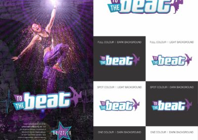 To the Beat Early Logo Concept 2b