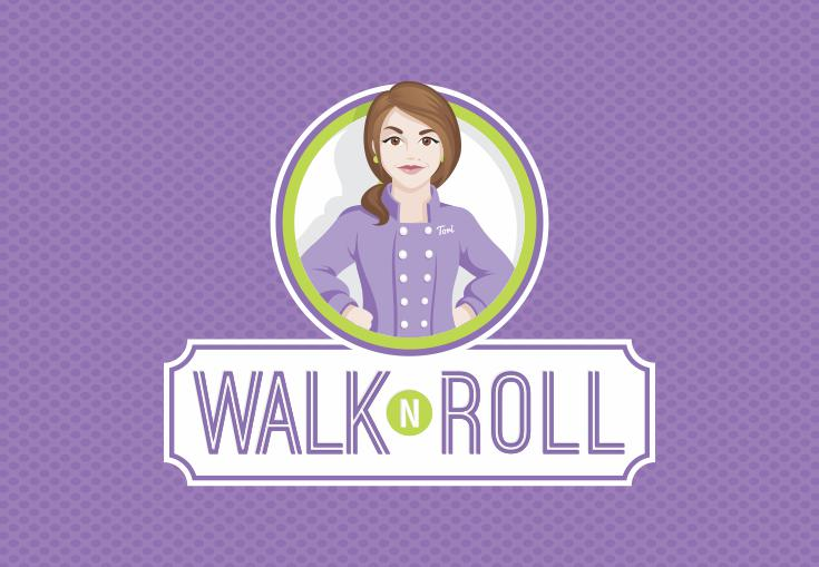 Visual Identity: Walk N Roll