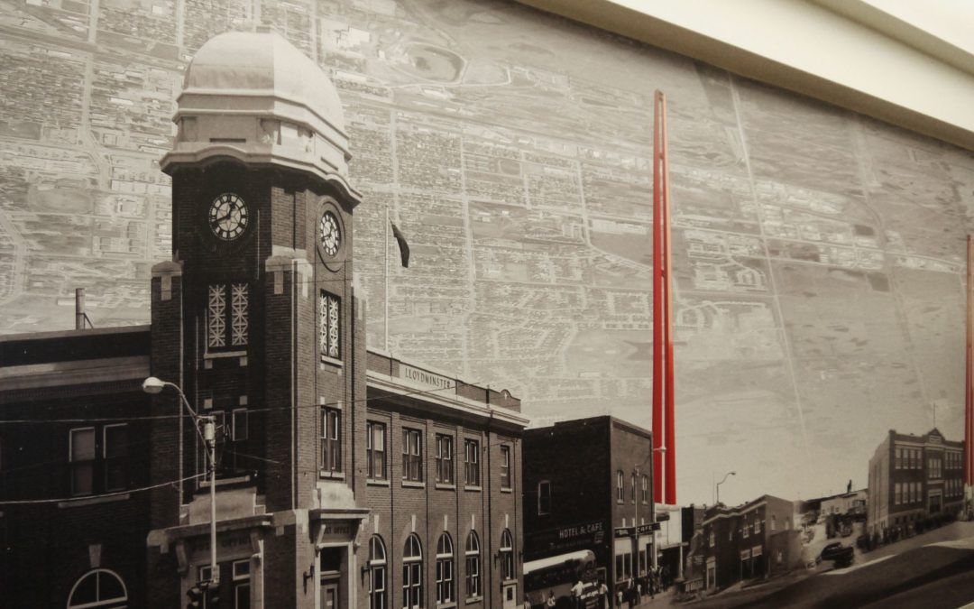 City of Lloyd: Timeline Mural
