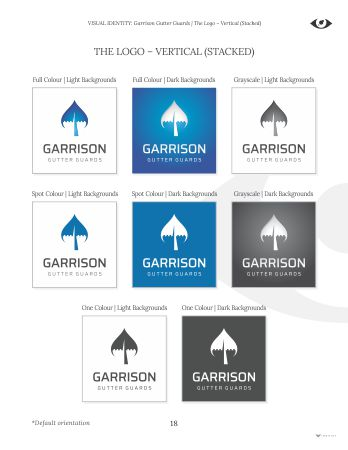 Garrison Gutter Guards: Brand & Business Development