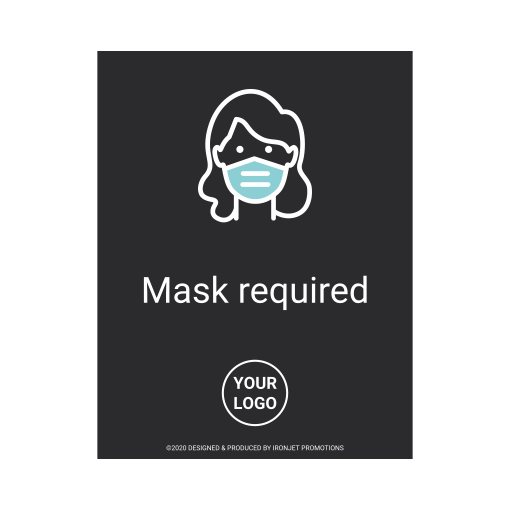 Ironjet COVID Decal Mask Required 510 px