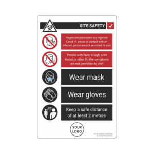 Ironjet COVID Sign Site Safety Rules 1 510 px